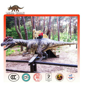 Park ride- animatronic dinosaurier
