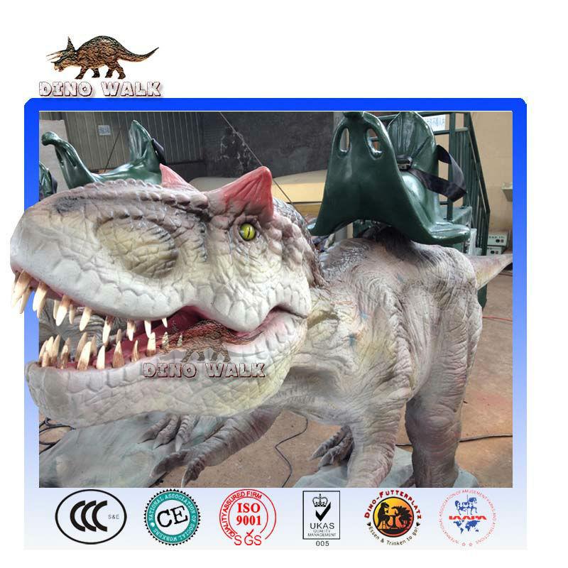 Animatronic t-rex giro
