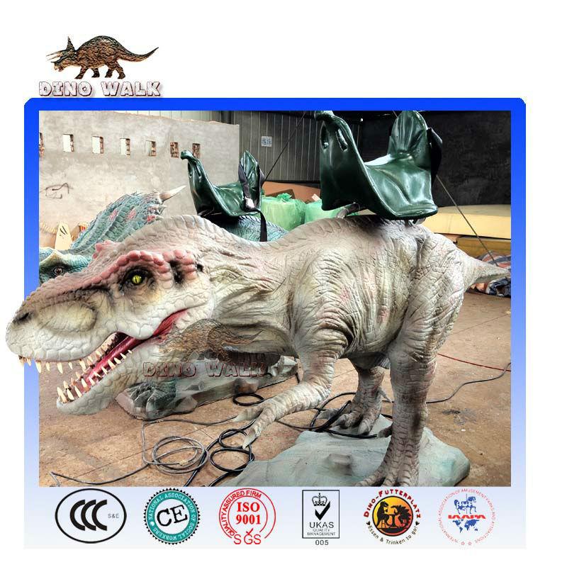 animatronic tyrannosaurus rex paseo