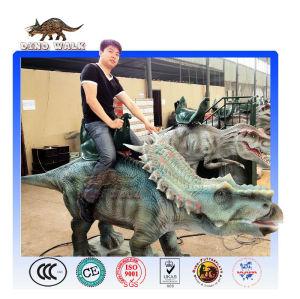 공룡 공원을 타고