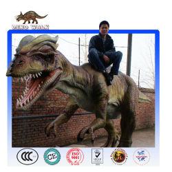 공룡 놀이를 타고