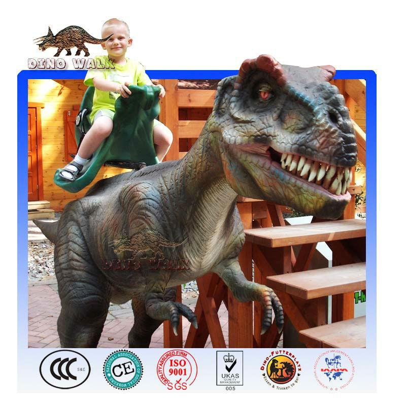 dinosaurio de atracciones paseo para parque de diversión