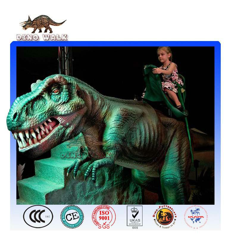Jura yolculuğuiçin süslemeler Dinozor canlı