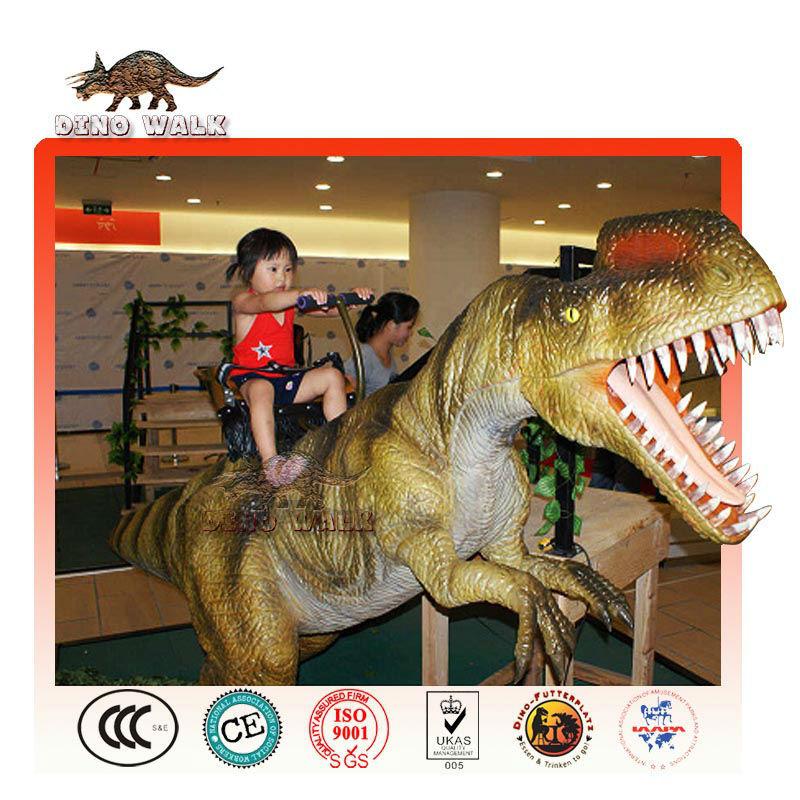 animatronic allosaurus fahrt