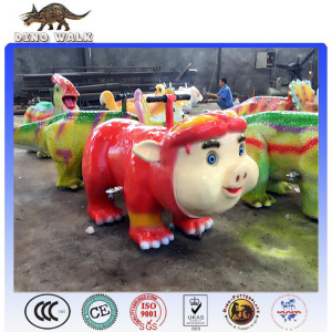 Outdoor and Indoor Electric  Animal  Pig Rides