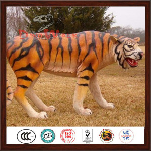 simulation animatronic tiger