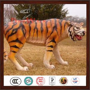 simulation animatronic tiger