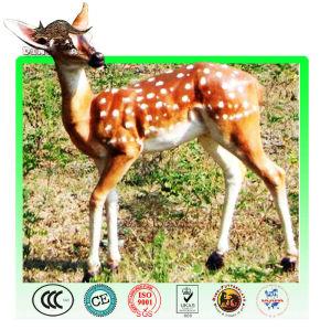 simulation life size animatronic deer