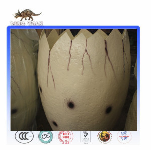 Animated Animatronic Artificial Real Dinosaur Egg