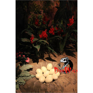 Entertainment Theme Park Animatronic Baby Dinosaur egg