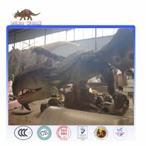 Attractive Realistic Artificial Animatronic Roaring Dragon