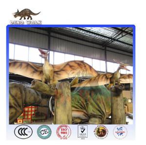 Amusement Park Life Size Animatronic Pterosaur Dinosaurs
