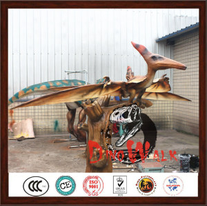 2016 The Most Popular Realistic Handmade Animatronic Robot Pterosaur