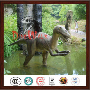 Attractive Life Size Silicon Rubber Dinosaur For Kid