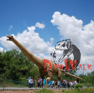 Indoor/Outdoor Exhibition Lifelike Giant Animatronic Dinosaur