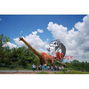 Indoor/Outdoor Exhibition Lifelike Giant Animatronic Dinosaur