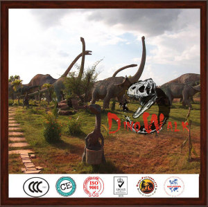 Outdoor Artificial Life Like Giant Dinosaur Model For Decoration