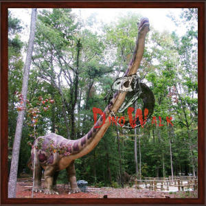 Park Decoration Animatronic Giant Dinosaur Model