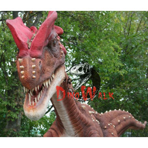 Amusement  Park Decoration Artificial Alive Dinosaur