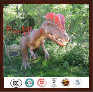 Attractive Realistic Life Size Movable Amusement Dinosaur Park