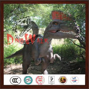 Amusement Park Interactive Animated Animatronic Dinosaur