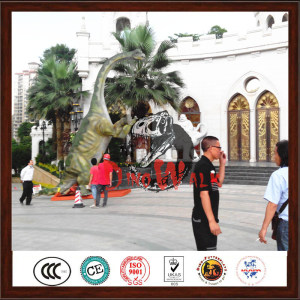Park Decoration Life Size Animated Artificial Dinosaur For Sale