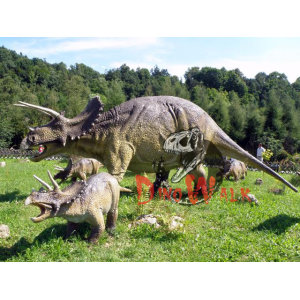 Fantastic Life Like Moving Handmade Dinosaur Park Attractions