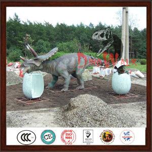 Attractive Decoration Life Size Handmade Dinosaur Park Model