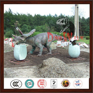 Attractive Decoration Life Size Handmade Dinosaur Park Model