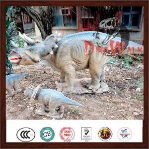 Theme Park Mechnical Artificial Lifelike Dinosaur Robot For Sale