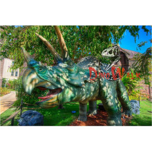 Amusement Park Life Like Robotic Dinosaur Model For Sale
