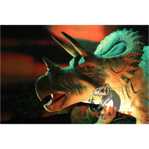 Outdoor Realistic Life Size Electronic Dinosaur Model