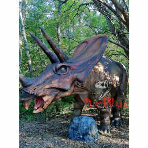 Customized Attractive Realistic Life Size Dinosaur For Kid
