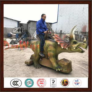 Prehistoric Park Popular Realistic Animatronic Dinosaur Model For Sale