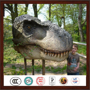 Attractive Decoration Customized Artificial Dinosaur Head