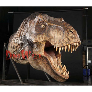 Jurassic Theme Park Robot Dinosaur Head Model
