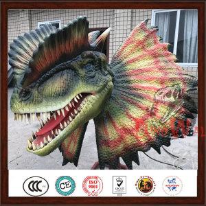 High Quality Animatronic Dinosaur Head Model For Exhibition
