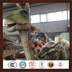 Theme Park High Simulation Mechanical animatronic dinosaur Statue