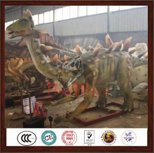 Outdoor Playground Children Park High Simulation Lifesize animatronic dinosaur Model