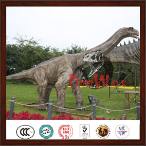 Life Size Dinosaur Model Outdoor Animated Christmas Dinosaur