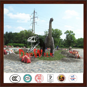 Jurrasic Theme Park Animatronic Dinosaur Alive Model
