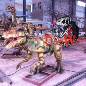 animatronic dinosaur Playground Equipment Attactive Dinosaur Model Life Size Dinosaur