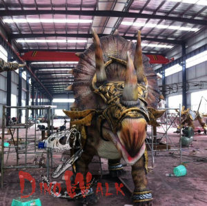 Theme Park Remote Control Animatronic Dinosaur Model