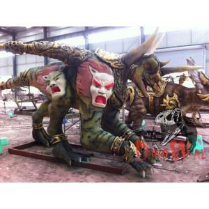 Handmade Lifesize Dinosaur Models animatronic dinosaur Sculpture