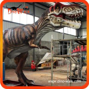 High Quality Animated Animatronic Moving T-rex Dinosaur Model