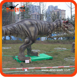 Outdoor T-rex Exhibition Animatronic Dinosaur Robot