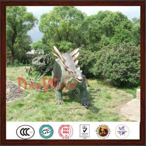 Theme Park Vivid Roaring Dinosaur Sculpture