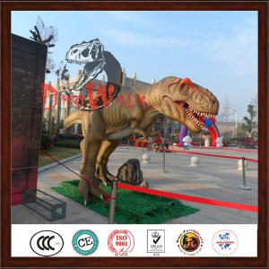 Outdoor Jurassic Park Simulation Dinosaur T-REX Model