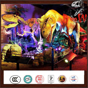 China Dinosaur Animatronic Giant T-Rex Dinosaur Model
