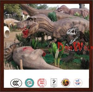 Outdoor Animatronic Artificial Real Dinosaur Games